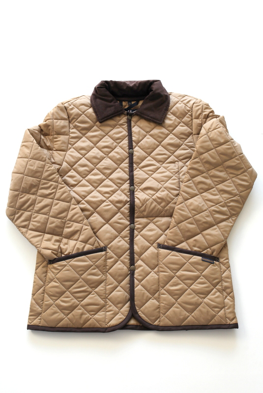 LAVENHAM MILDEN × EEL Products -BEIGE-