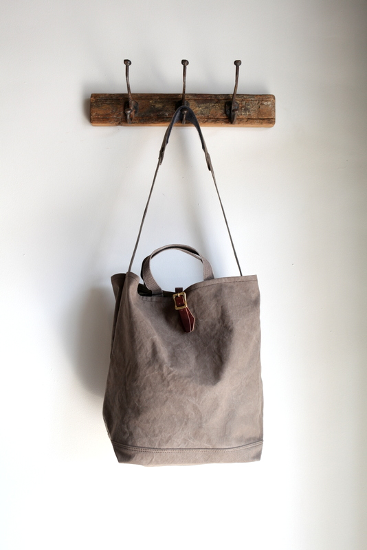 ARTS&CRAFTS アーツ アンド クラフツ | #9 CANVAS 2WAY GROCERY TOTE -OLIVE-