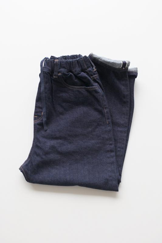 TRAVAIL MANUEL | セルビッチデニム 5P PANTS  -INDIGO-