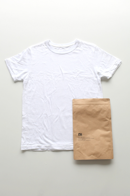 fit | CREW NECK S/S T-SHIRTS -WHITE-