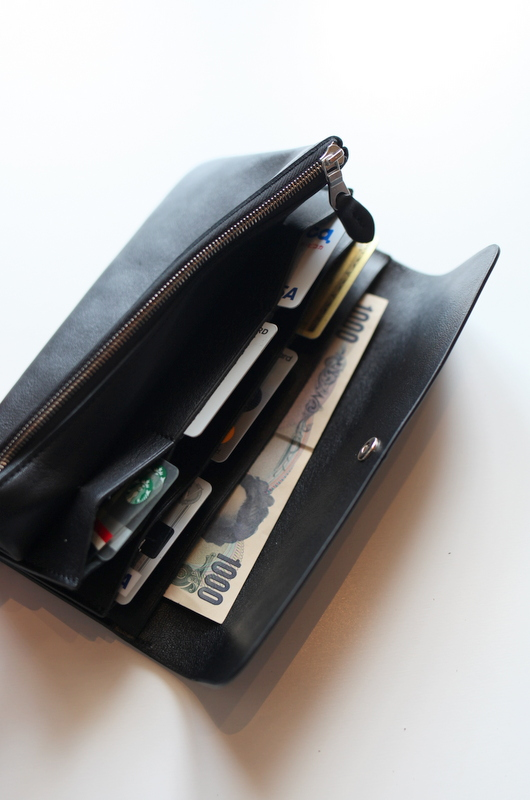 "STANDARD SUPPLY スタンダード サプライ | ""PAL"" LONG WALLET -BLACK-"