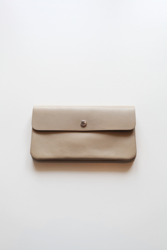 "STANDARD SUPPLY スタンダード サプライ | ""PAL"" LONG WALLET -LIGHT BEIGE-"