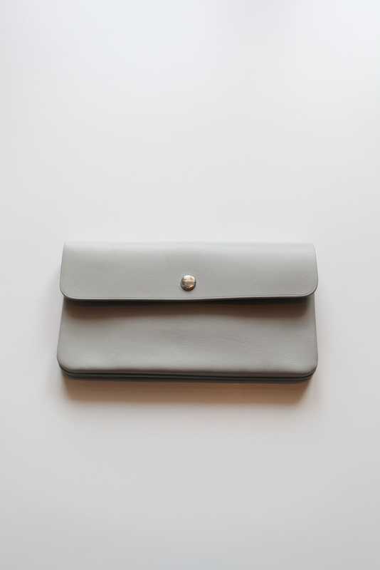 "STANDARD SUPPLY スタンダード サプライ | ""PAL"" LONG WALLET -LIGHT GRAY-"