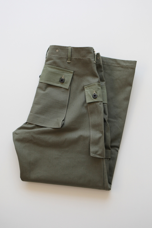 WAREHOUSE ウエアハウス | Lot.1097 USMC HERRINGBONE MONKEY PANTS