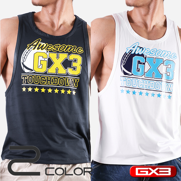 LIMITED EDITION GX3 WEAR TOUCHDOWN TANKTOP タンクトップ