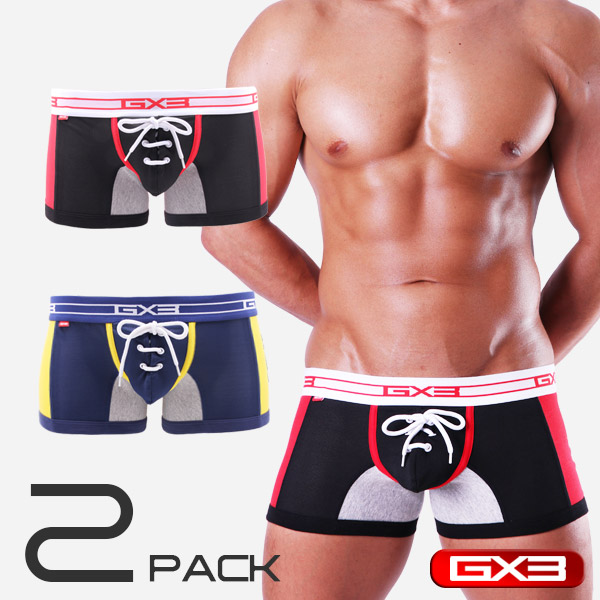2PACK GX3 PROFESSION FOOTBALL BOXER ボクサー(2枚セット)