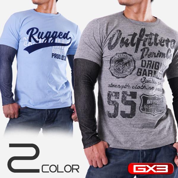 GX3 WEAR DENIM DX LONG T-SHIRT Tシャツ