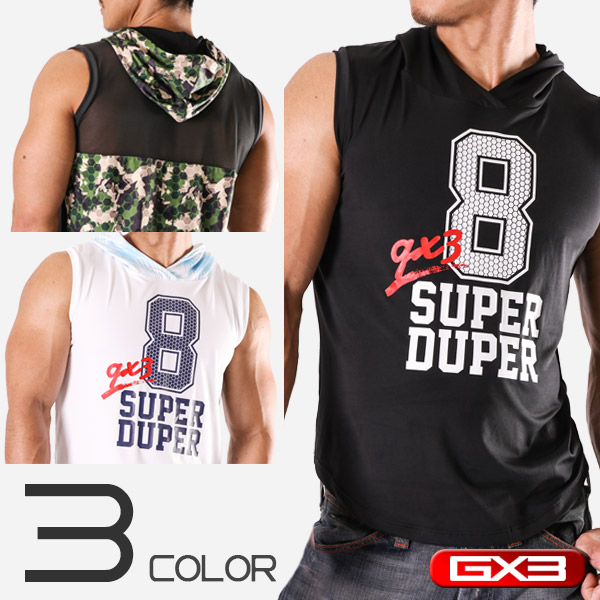 LIMITED EDITION GX3 WEAR SUPER DUPER SLEEVELESS ノースリーブ