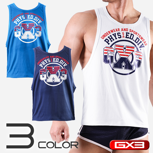GX3 WEAR GYM TANKTOP タンクトップ