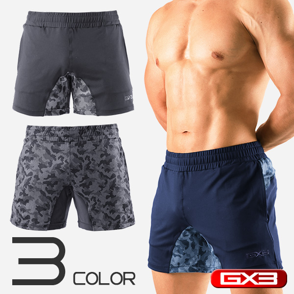 GX3 SPORTS DRY FIT GYM SHORTPANTS ショートパンツ