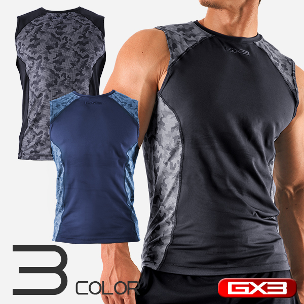 GX3 SPORTS DRY FIT SLEEVELESS ノースリーブ