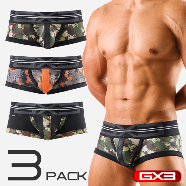 3PACK GX3 PROFESSION ARMY BOXER