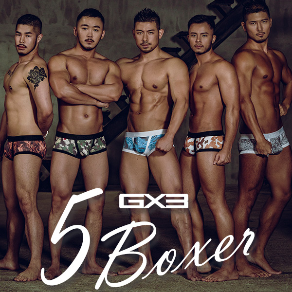 5PACK GX3 PROFESSION BOXER 5 VALUE PACK ボクサー(5枚セット)