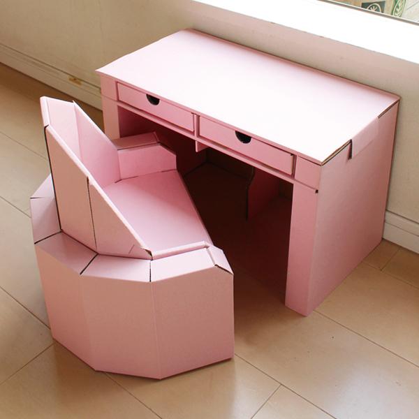 ベビーチェア・デスク/ピンク