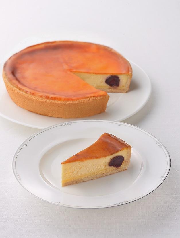 チェリーチーズケーキ(7号21cm)冷凍【木箱入り】