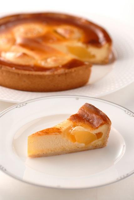 アップルチーズケーキ (7号21cm)冷凍【木箱入り】