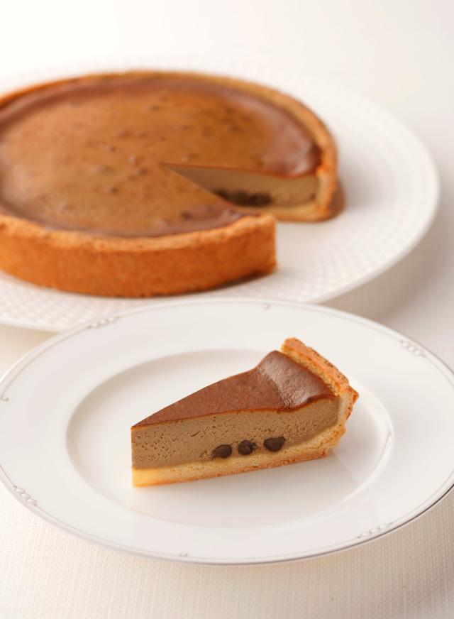【数量限定】ほうじ茶チーズケーキ (7号21cm)冷凍【木箱入り】