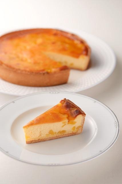 マロンチーズケーキ  (7号21cm)冷凍【木箱入り】