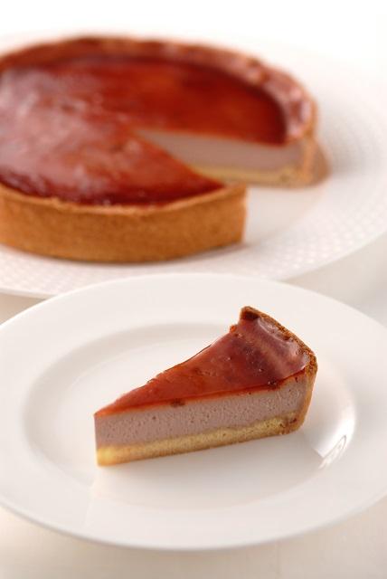 ラズベリーチーズケーキ (7号21cm)冷凍【木箱入り】
