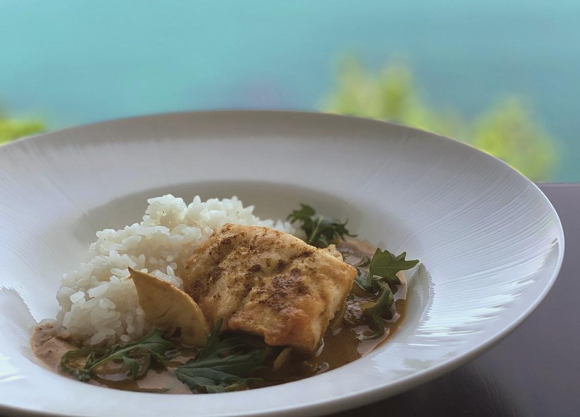 真鯛 タイ国風カレー