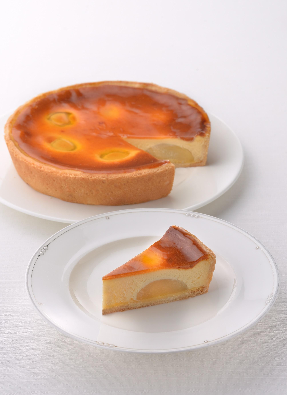 ピーチチーズケーキ (7号21cm)冷凍【木箱入り】