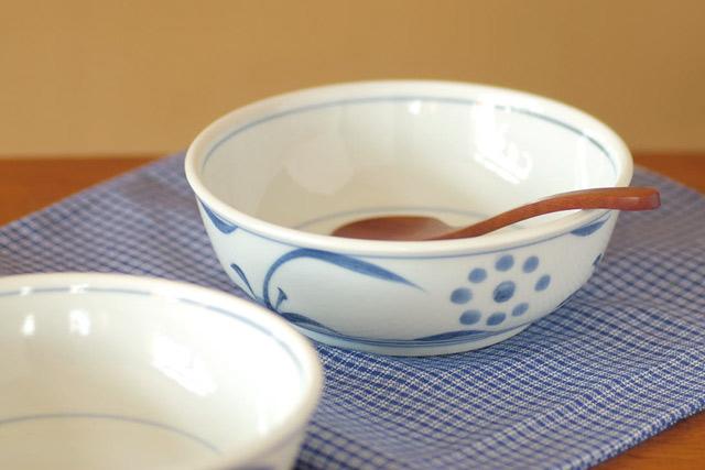 和食器・砥部焼 外太陽の多用鉢
