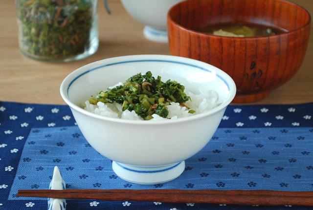 和食器・砥部焼 だみごす花の反碗