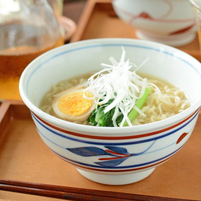 和食器・砥部焼 みつ葉の丼鉢(5.2寸)