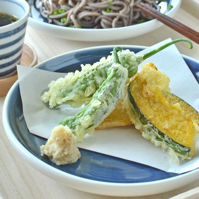 和食器・砥部焼 藍色の切立丸皿(6寸)