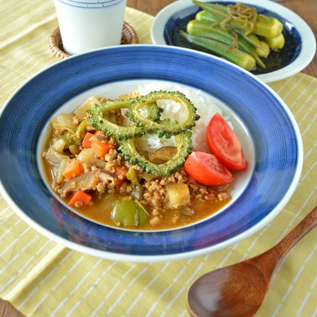和食器・砥部焼 梅山窯の縁付皿
