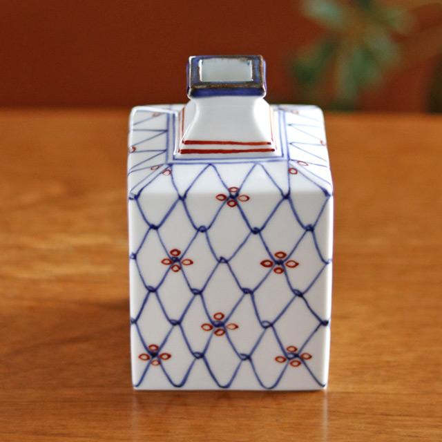 和食器・砥部焼 梅山窯の角花瓶