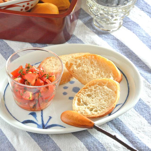 和食器・砥部焼 太陽柄の布目小判皿