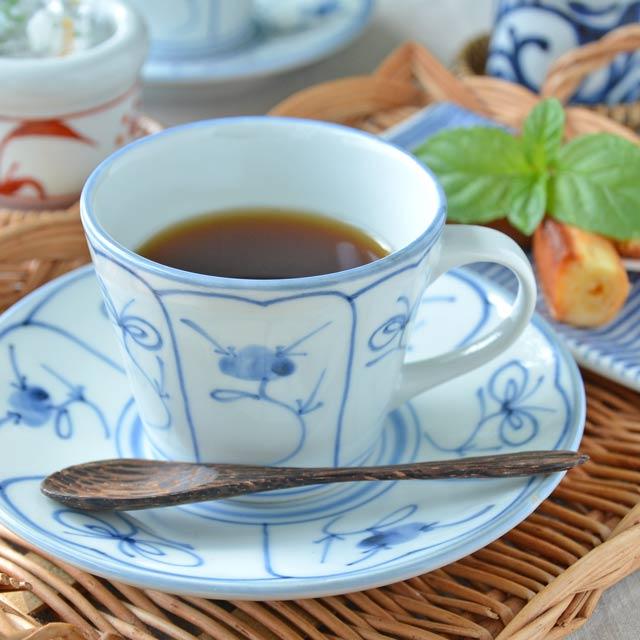 和食器・砥部焼 なずなのコーヒーカップ