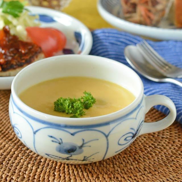 和食器・砥部焼 なずなのスープカップ