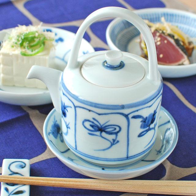 和食器・砥部焼 なずなの醤油さし(大)