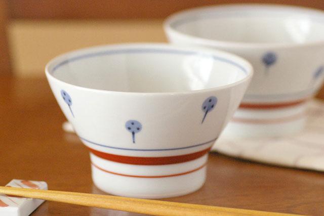 和食器・砥部焼 梅山窯 たんぽぽの茶碗(大)