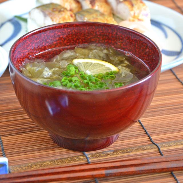 香川漆器の京型汁碗(後藤塗)