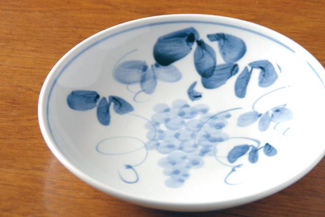 和食器・砥部焼 季節の大皿(7寸)