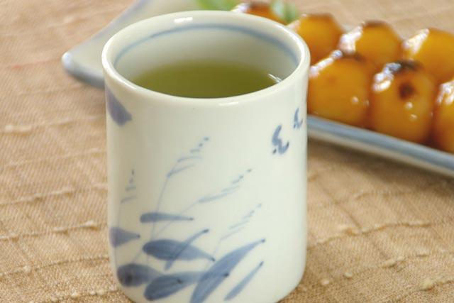 【砥部焼 森陶房】すすきの筒湯のみ(大)
