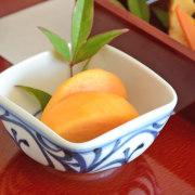 和食器・砥部焼 からくさの四方鉢(3寸)