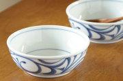 【砥部焼 梅山窯】外からくさの多用鉢(4.7寸)
