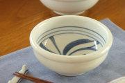 【砥部焼 梅山窯】内からくさの玉ぶち鉢(4寸)