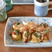 和食器・砥部焼 なずなの角皿(5.5寸)