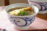 【砥部焼 梅山窯】からくさの丼鉢(5.2寸)