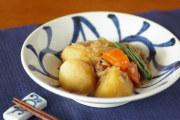 和食器・砥部焼 みつからくさの反鉢(6寸)