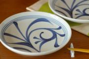 和食器・砥部焼 ひとつからくさの大皿