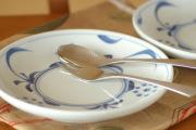 和食器・砥部焼 太陽柄の大皿