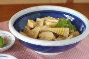 和食器・砥部焼 藍色の玉ぶち鉢(8寸)