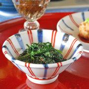 和食器・砥部焼 あさがお小鉢