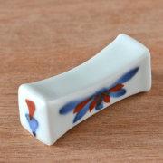 和食器・砥部焼 ごす赤菊の箸置き